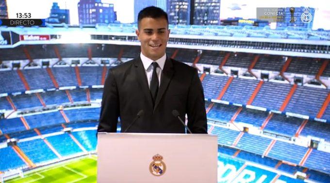 El Real Madrid presenta a Reinier