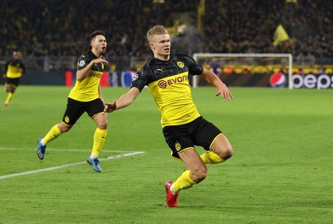 Champions League: Haaland le dio ventaja a Dortmund sobre PSG