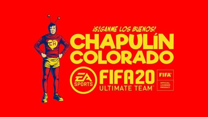EA Sports incluye uniforme del 'Chapulín Colorado' en el FIFA 20