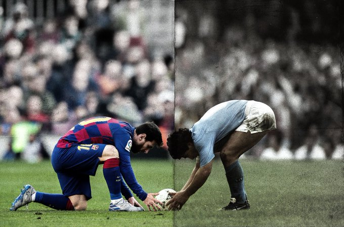 Así fue la recepción a Messi en Napolés