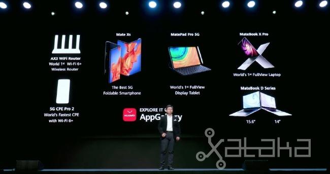 Huawei presenta sus gadgets tras la cancelación del MWC