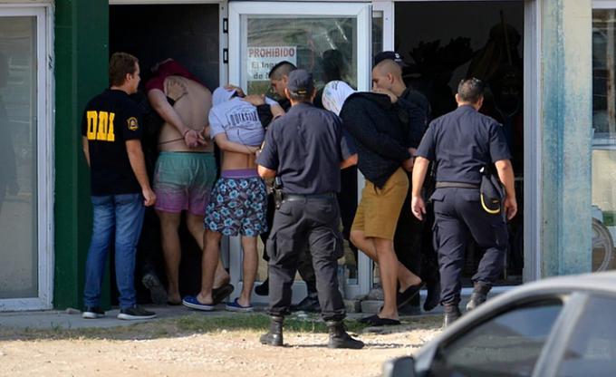 Dos de los rugbiers cumplieron años alejados de sus familiares y encerrados