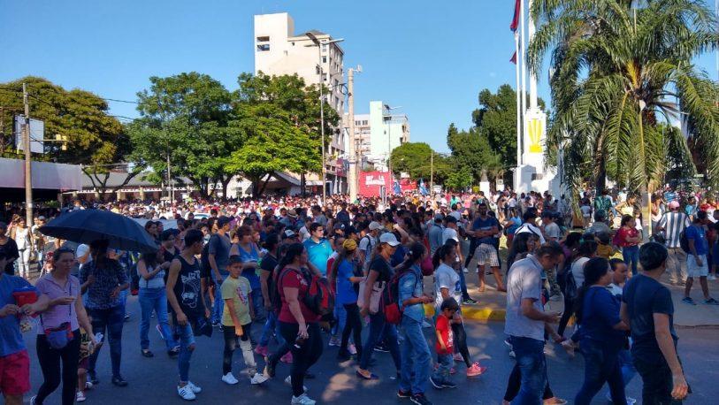 Marcha contra el FMI: la CCC se movilizó en Posadas