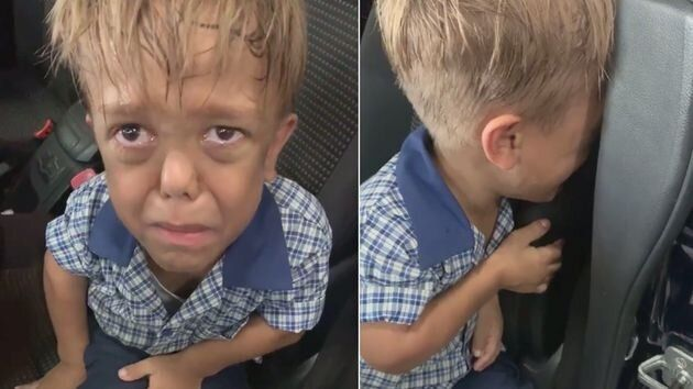 Estremecedor video de un niño con enanismo víctima de #bullying