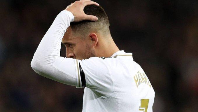 Real Madrid confirma la lesión de Eden Hazard