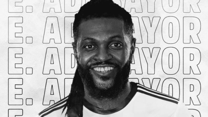 Olimpia anunció la llegada de Adebayor