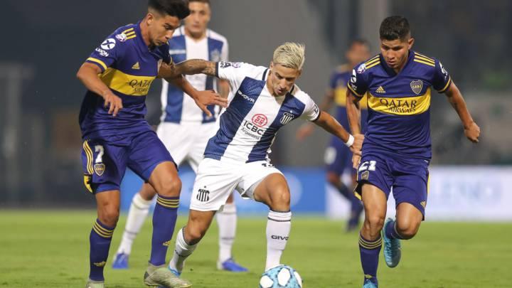 Boca le ganó a Talleres en Córdoba