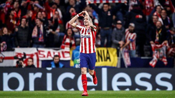 Atlético de Madrid se quedó con el duelo de ida ante Liverpool