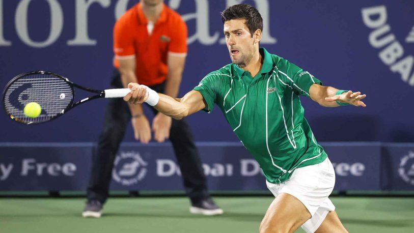 Djokovic volvió con todo en el ATP 500 de Dubai