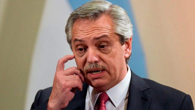 """Alberto Fernández: """"Me molesta que me digan que tengo presos políticos"""""""
