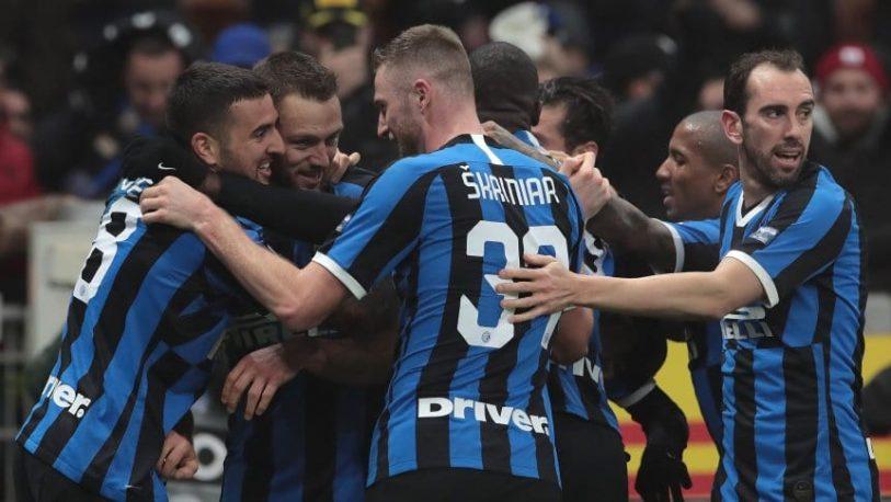 Inter se quedó con el clásico ante Milan