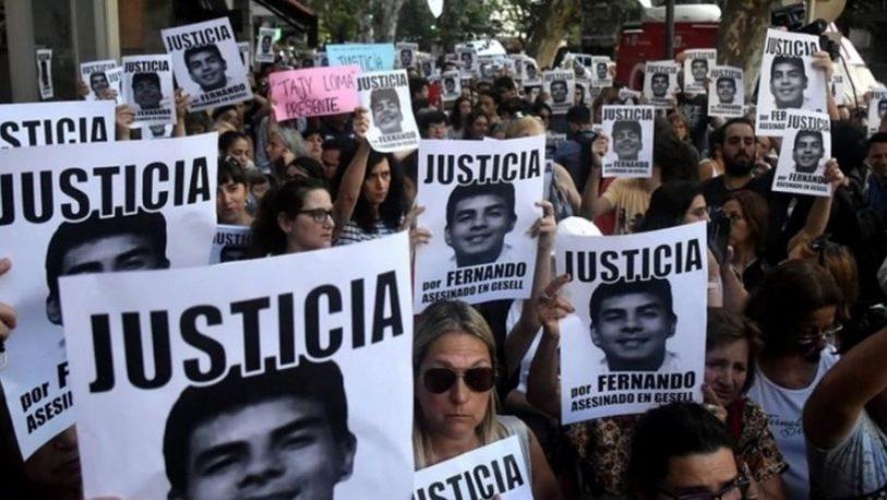 Nueva marcha de Familiares y amigos de Fernando Báez Sosa