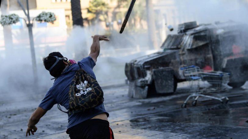 Saqueos, incendios y pedradas en las protestas en Viña del Mar