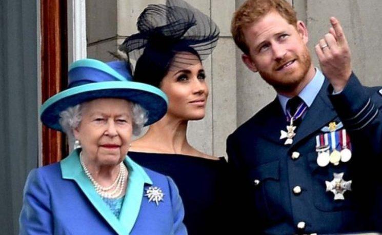 ¿Qué sanción le dio la reina a Harry y Meghan Markle?