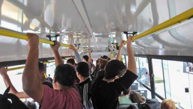 Notificaron a empresas de transporte por la aglomeración de pasajeros