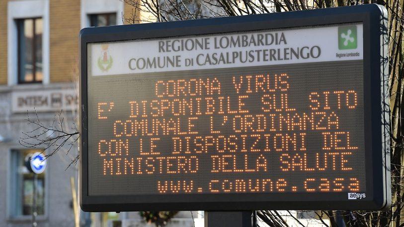 Italia: admiten que es verosímil que haya 600.000 contagiados