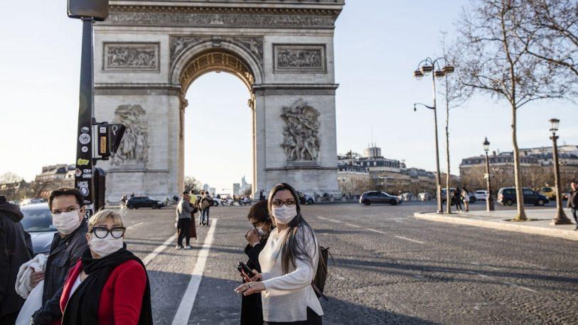 Coronavirus: casi 1.700 muertos y más de 29 mil contagiados en Francia