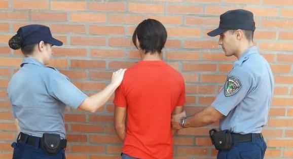 Amenazó de muerte a un joven y fue detenido