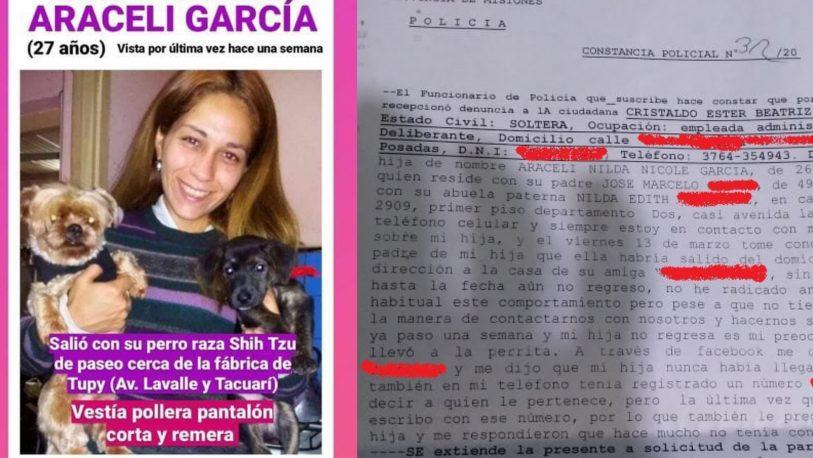 Joven de 26 años, está desaparecida desde hace 9 días