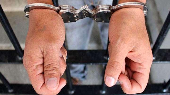 Robó cables de un pilar y fue detenido