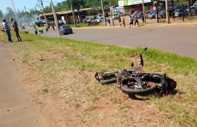 Motociclista murió tras chocar con una camioneta en Garupá