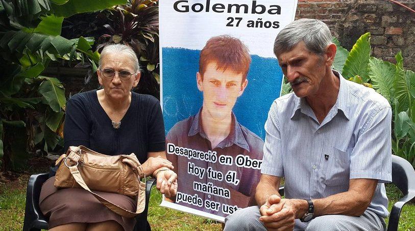 Trece años sin Mario Golemba, el desaparecido en democracia de Misiones