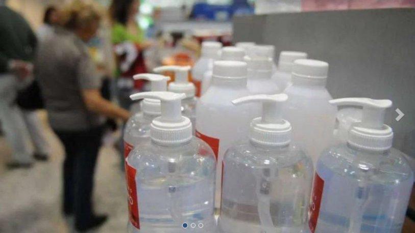 Posadas: Sigue escaseando el alcohol y el alcohol en gel en comercios