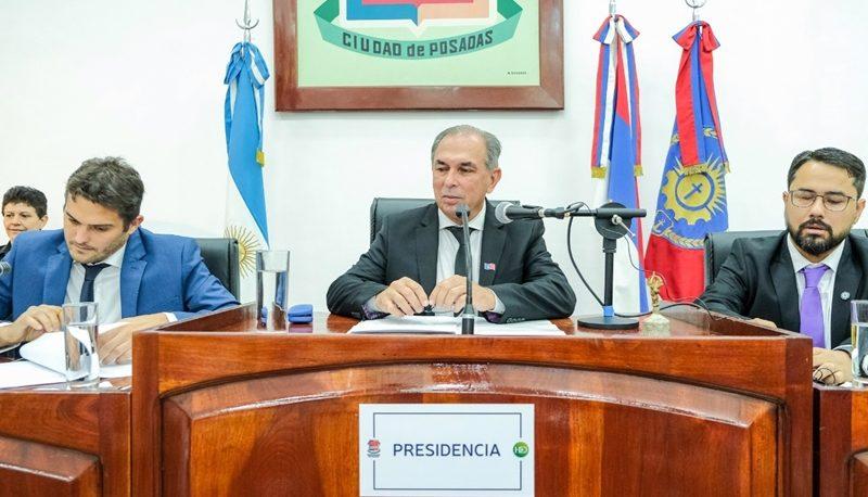 Sin hablar de la Inseguridad, Stelatto inauguró el año legislativo