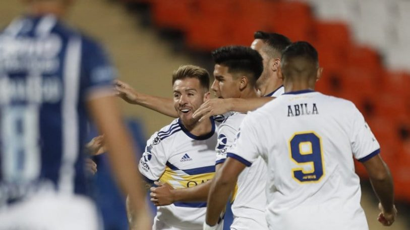 Boca le ganó con autoridad a Godoy Cruz en Mendoza