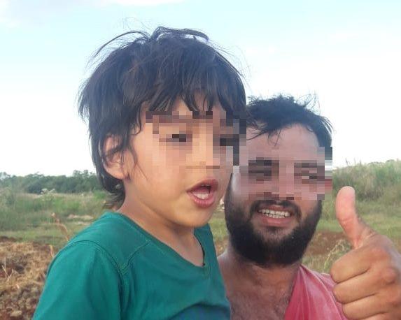Vecinos hallaron a un niño que se había extraviado