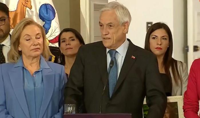 Chile: Polémica frase de Sebastián Piñera sobre las mujeres abusadas