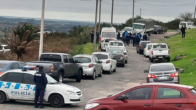 Conmoción en Uruguay: fusilaron a tres infantes de Marina y robaron sus armas