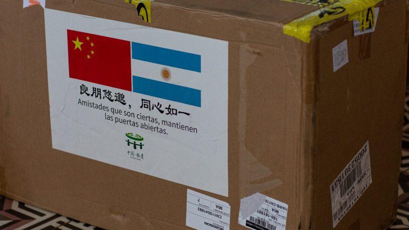 China donó 15 mil elementos de bioseguridad a Misiones