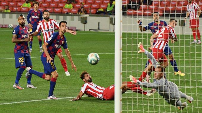 Messi marcó el gol 700