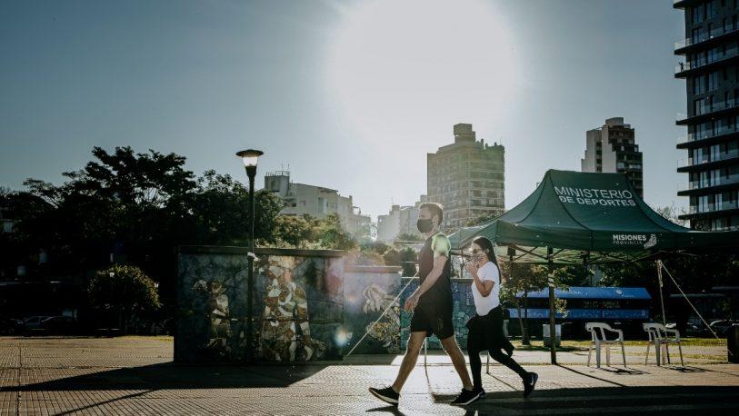 Más de 7 mil personas realizaron caminatas recreativas en el Día del Padre