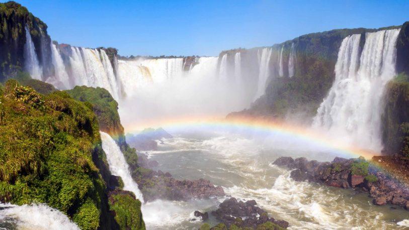 Se normaliza el caudal de agua en las Cataratas del Iguazú