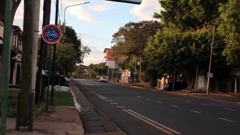 Ciclovías: instalan carteles en Francisco de Haro y Rademacher