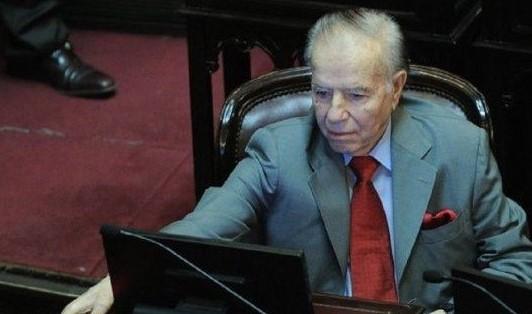 Carlos Menem recibió el alta médica