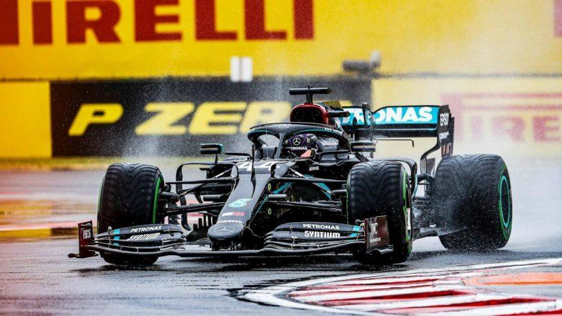Fórmula 1: Lewis Hamilton hizo la pole en Hungría