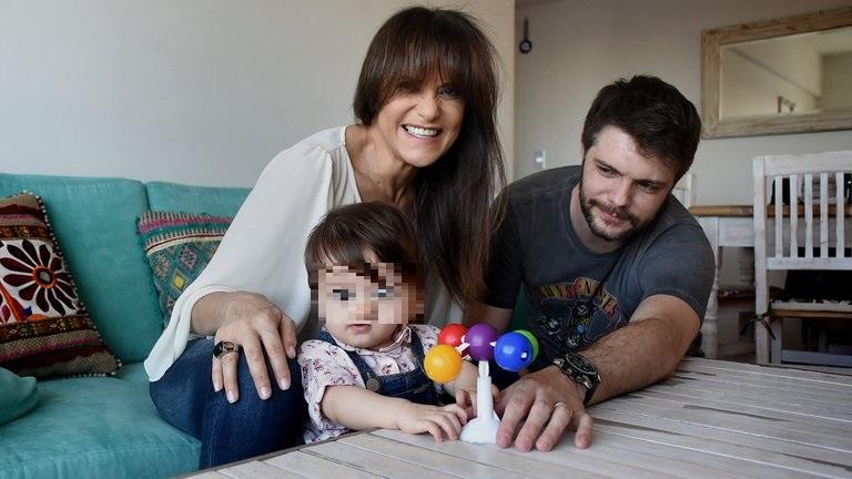 María Fernanda Callejón, su marido y su hija fueron internados de urgencia