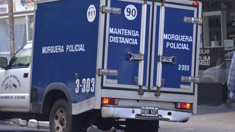 Un motociclista despistó en Dos Arroyos y falleció