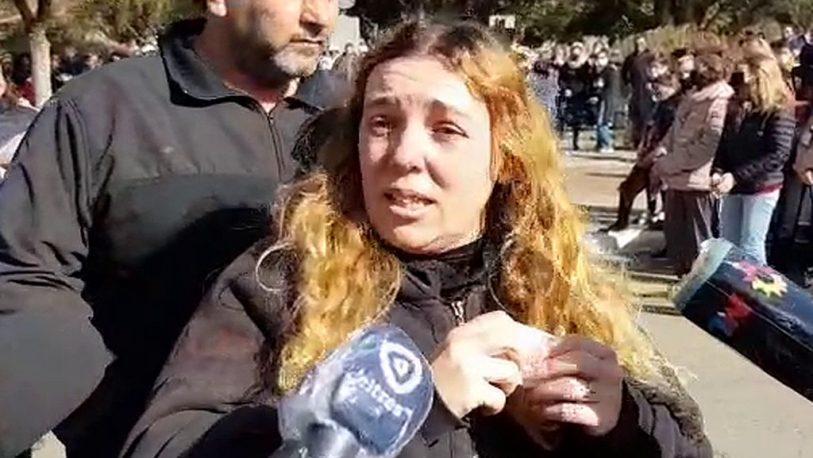 """""""No se olviden de Julieta"""", pidió la madre de la chica asesinada en Berabevú"""