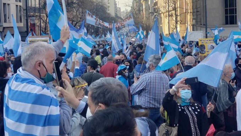"""Desde el oficialismo: """"Manifestación opositora"""" en todo el país"""