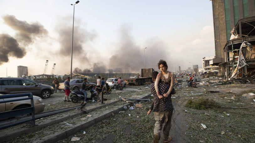 """El duro testimonio de una argentina en Beirut: """"Hoy es un día ..."""