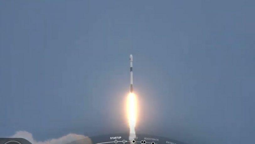 Argentina lanzó con éxito un nuevo satélite, el SAOCOM 1B