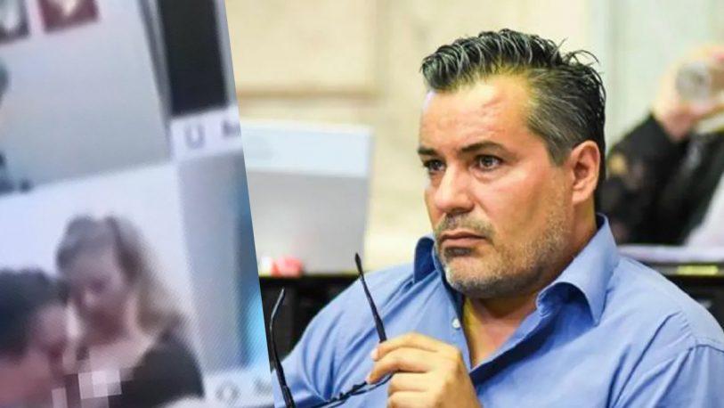 """Imputaron a Juan Ameri por su escena de """"sexo virtual"""" en una sesión de Diputados"""