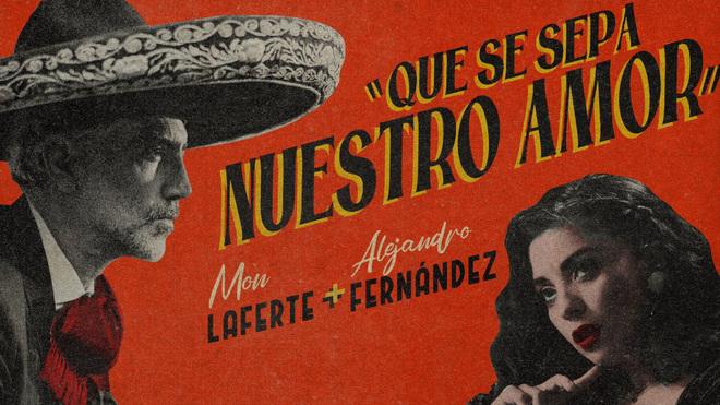 """Mon Laferte y Alejandro Fernández presentaron """"Que se sepa nuestro amor"""""""