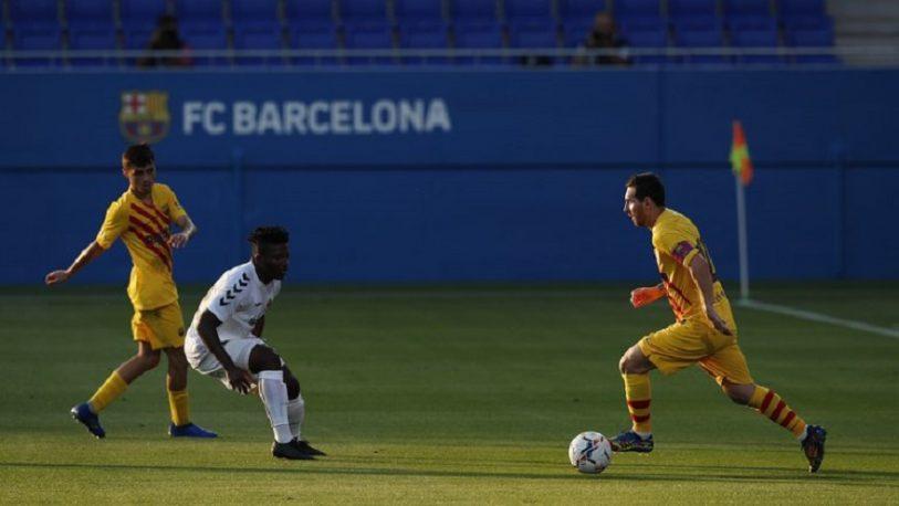 Barcelona le ganó al Gimnástic en el primer amistoso de la era de Koeman