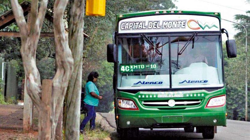 Un nuevo paro de colectivos afecta a los usuarios del transporte en Oberá