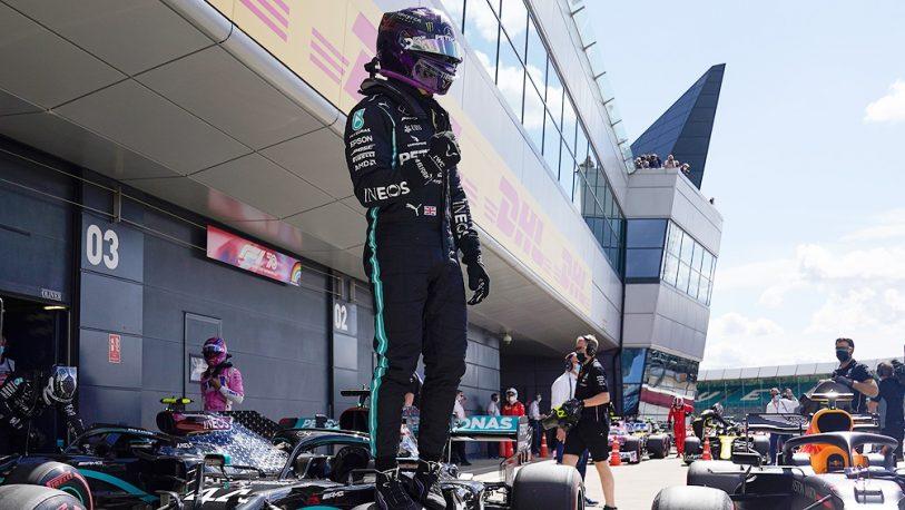 Fórmula 1: Hamilton dominó la clasificación en Monza